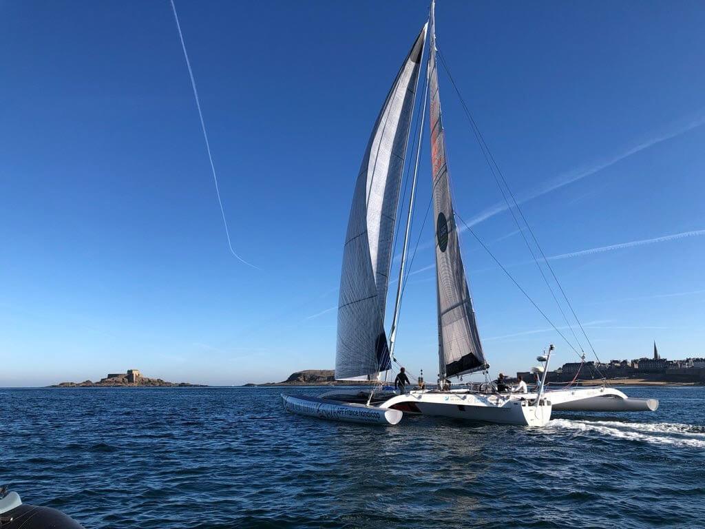 Le cabinet coppet avocats soutien le skipper amputé Fabrice payen pour la route du rhum 2018
