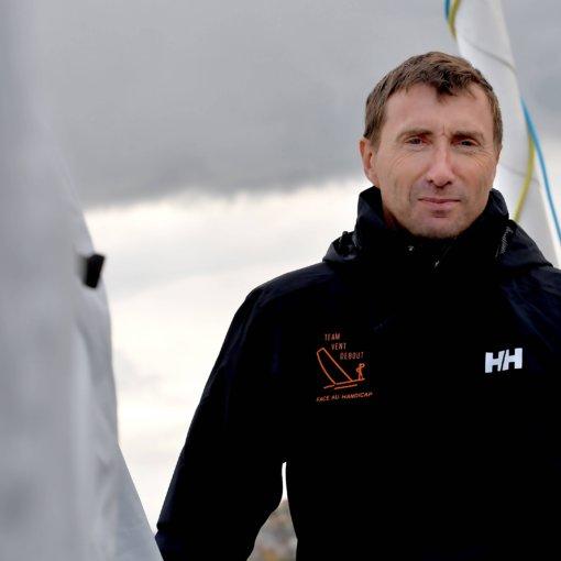 Fabrice payen skipper courageux