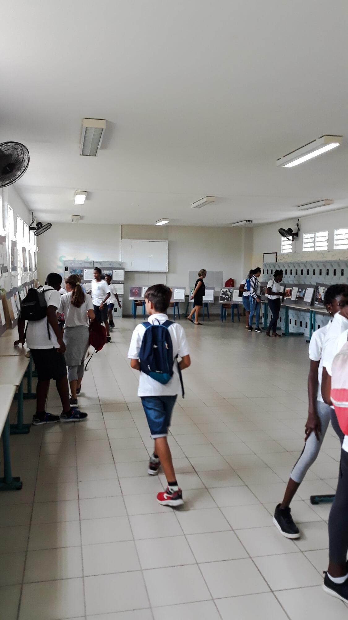 Exposition 57 pour sensibiliser les scolaires aux risques routiers
